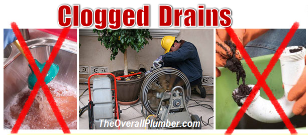 Clogged Drains - Emergency Plumbing Service - 24 Hours Plumbers - TheOverallPlumbers.com