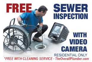 FREE Video Check Sewer Inspection with Drain Cleaning Service - Sewer Lines in Houston