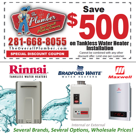 Tankless Water Heaters On Sale  Save $500 On Tankless Water Heater Installation